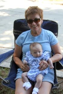 Olivia with Oma